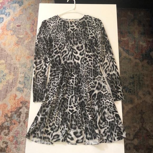 Michael Kors Dresses & Skirts - Michael Kors Black & White Leopard Dress